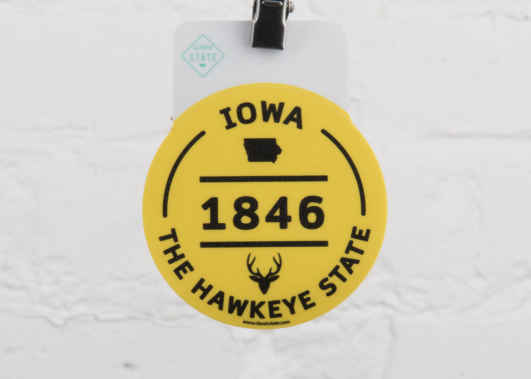 Iowa Deer Shack Sticker