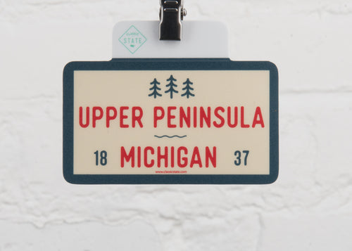 Michigan Upper Peninsula Sticker