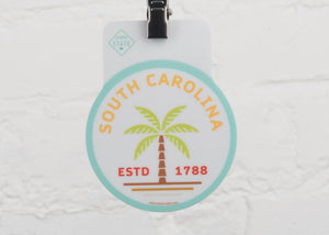 South Carolina Palms Sticker