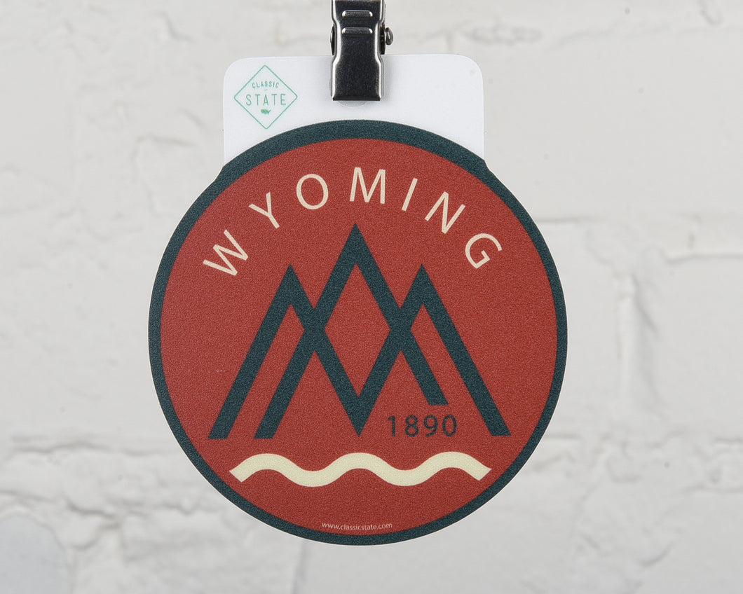 Wyoming River Sticker
