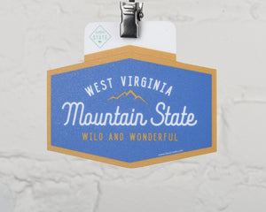 West Virginia Wild & Wonderful Sticker