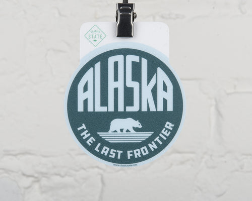Alaska The Last Frontier Sticker
