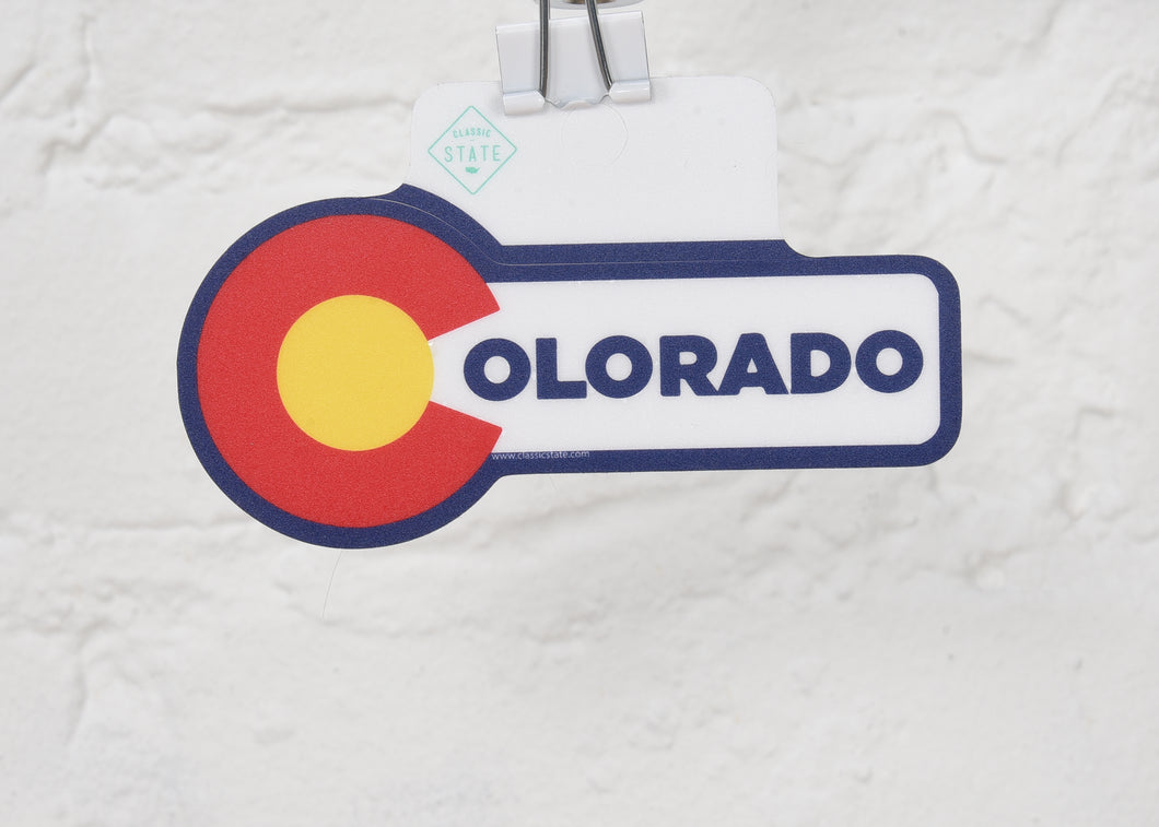 Colorado Big Sun Sticker