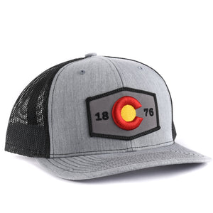 Colorado 3-D Flag Snapback Hat - Classic State