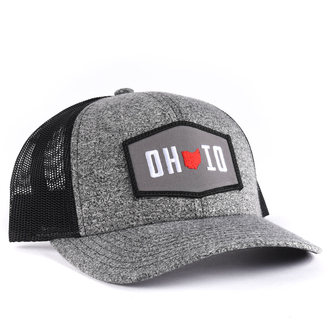 Ohio Hexagon Snapback Hat Classic State