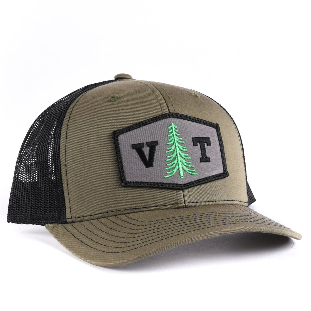 Vermont Tree Hexagon Snapback
