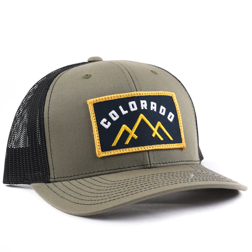 Colorado Mountains Snapback Hat - Classic State