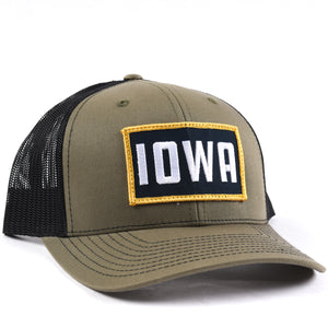 Iowa Fan Snapback - Classic State Hat