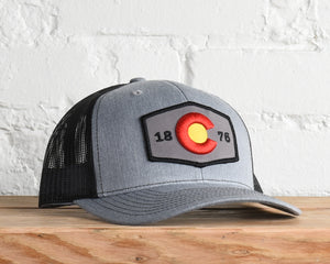Colorado 3-D Flag Snapback