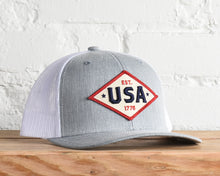Load image into Gallery viewer, Patriot USA Snapback
