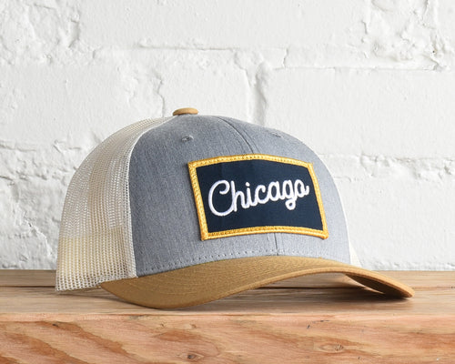 Illinois- Chicago Script Snapback