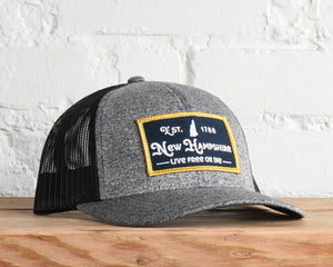 New Hampshire Live Free Snapback