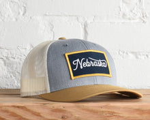 Load image into Gallery viewer, Nebraska Script Snapback