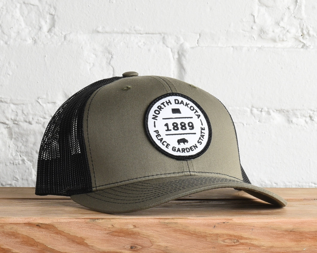 North Dakota Peace Garden State Snapback