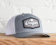 Load image into Gallery viewer, Oregon Hexagon Script Snapback