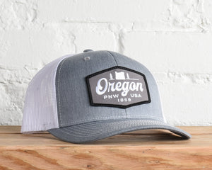 Oregon Hexagon Script Snapback