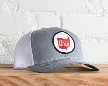 Load image into Gallery viewer, Ohio Script State Snapback