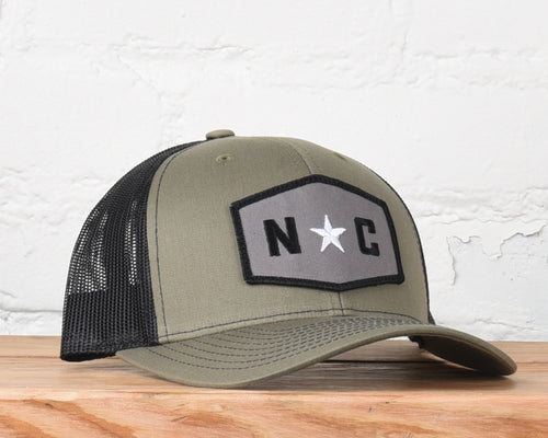 North Carolina Star Hexagon Snapback