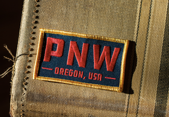 Oregon PNW Rectangle Patch