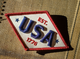 Patriot Diamond Patch