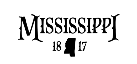 Mississippi 1817 Decal