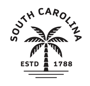 South Carolina Palms Decal
