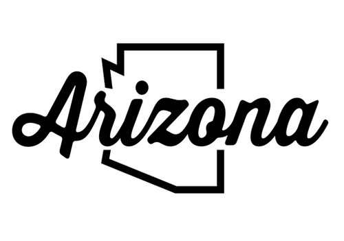 Arizona Script Decal