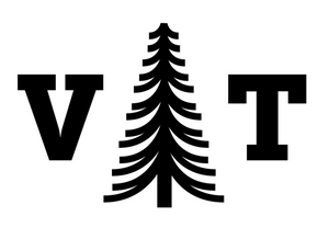 Vermont Tree Hexagon Decal