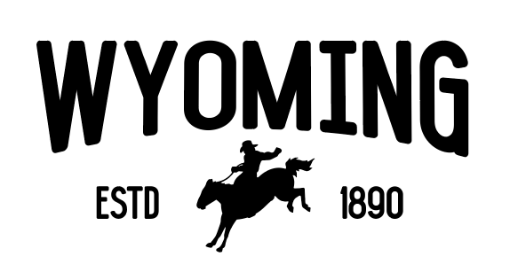 Wyoming Cowboy Decal