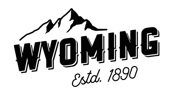 Wyoming Mt Peak Decal