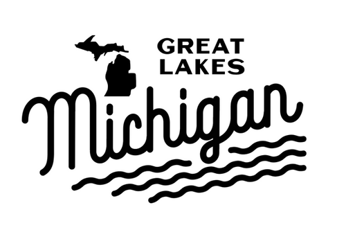 Michigan's Great Lakes Decal