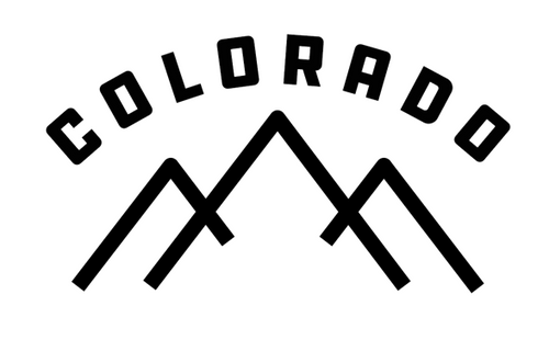 Colorado Mountains Decal