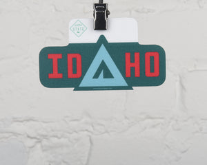 Idaho Tent Sticker