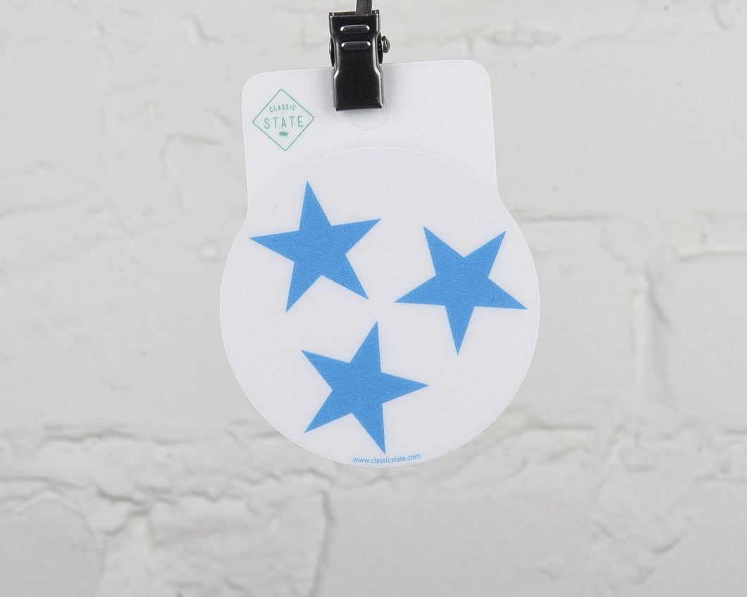 Tennessee Stars Circle Sticker
