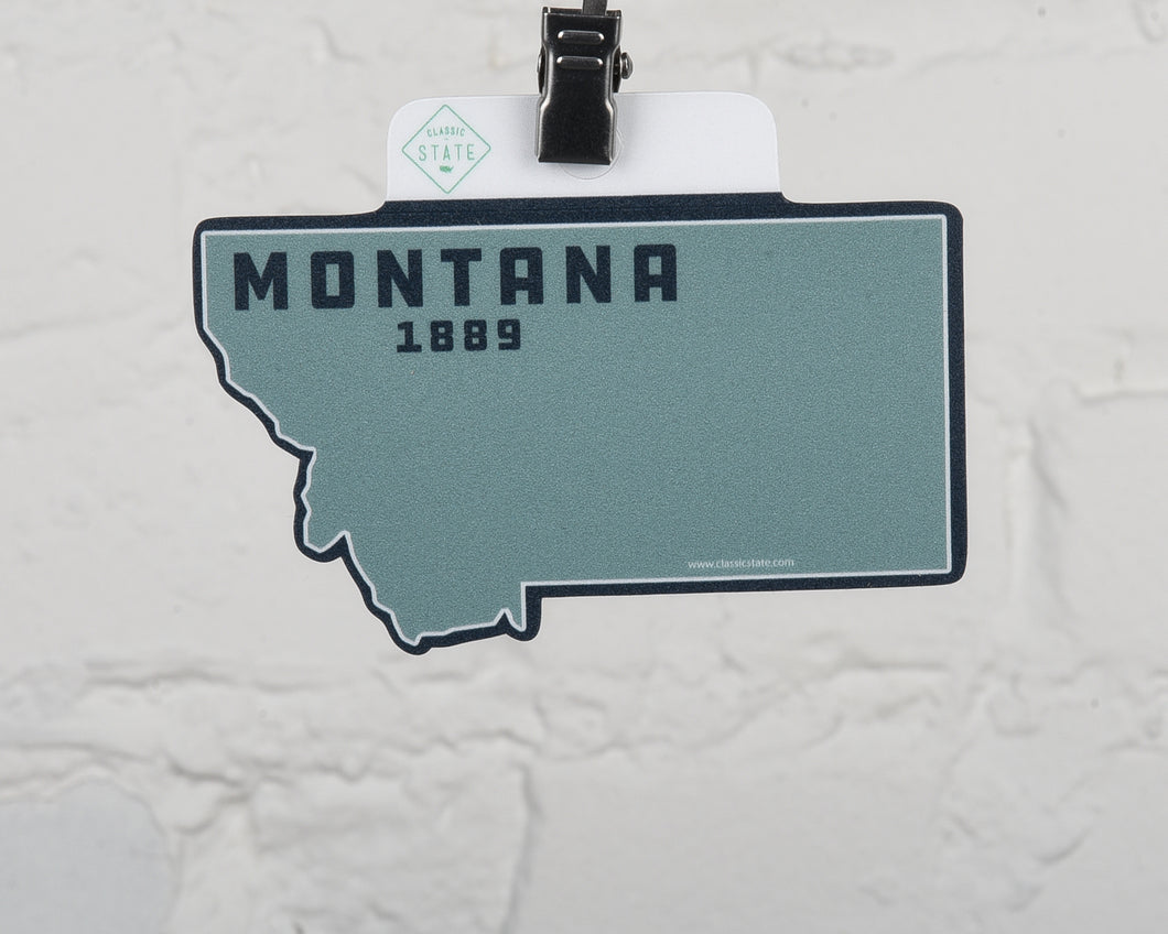Montana State Shape Sticker
