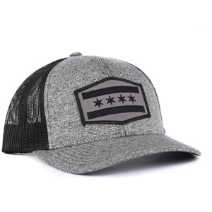 Illinois  Chicago Flag Snapback Hat - Classic State