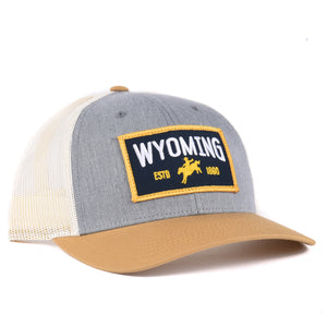 Wyoming Cowboy Snapback - Classic State hat