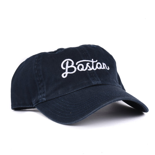 Boston, Massachusetts Script Hat - Hat Classic State
