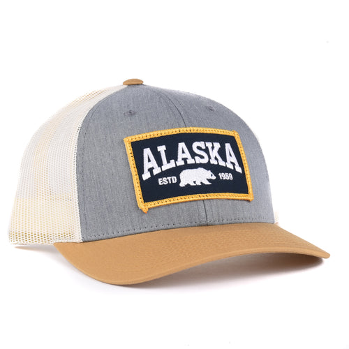 Alaska Wilderness Snapback hat