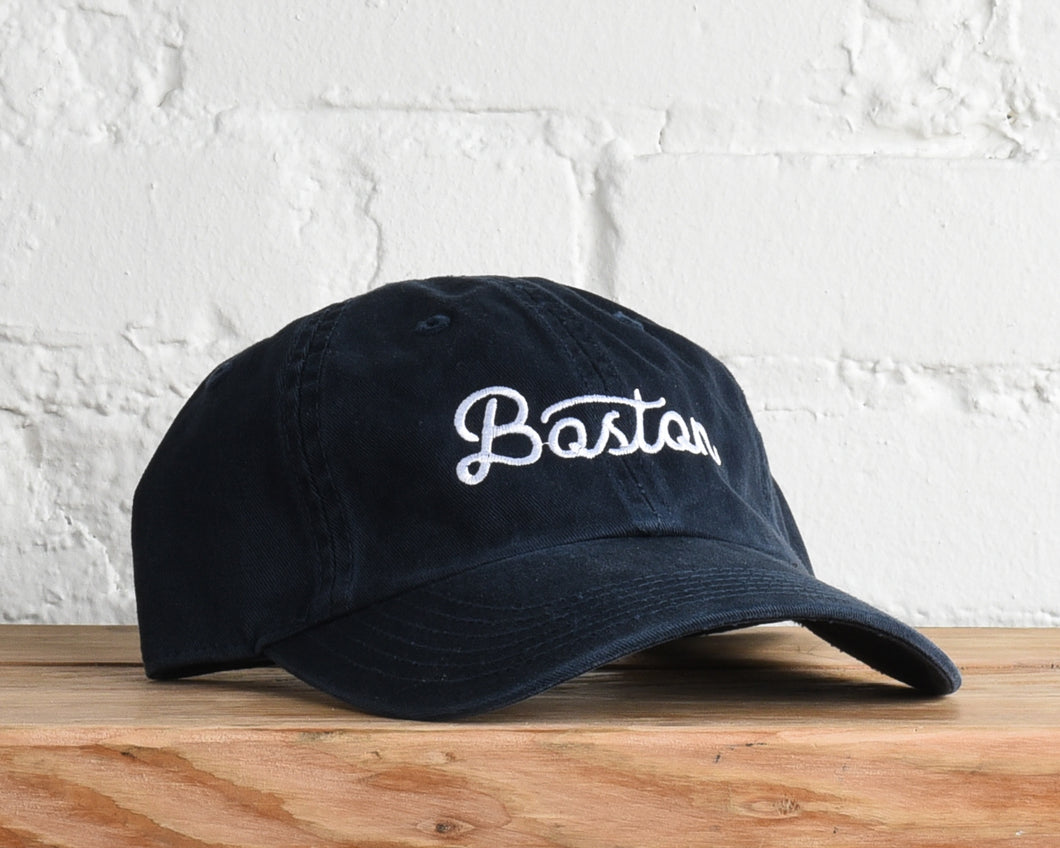 Boston, Massachusetts Script Hat