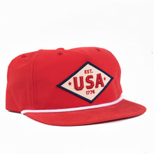Load image into Gallery viewer, Americana USA Snapback- classic state hat