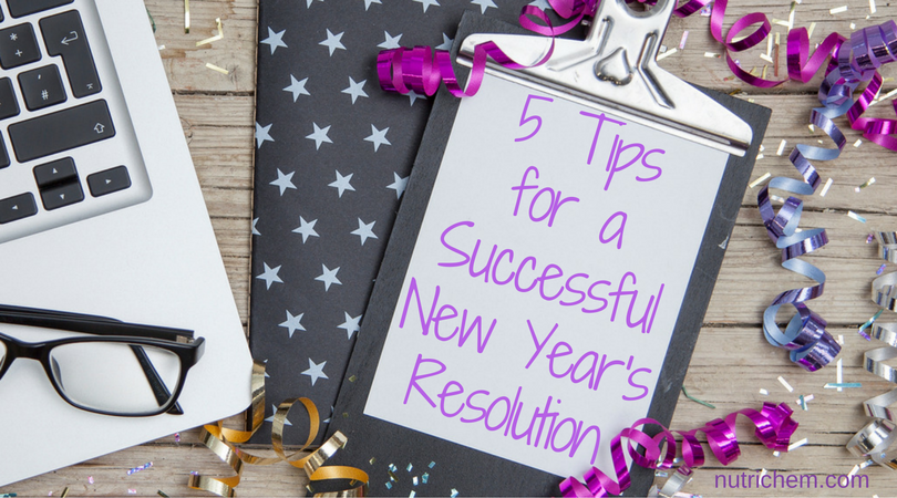 5 Tips for a Successful New Year's Resolution