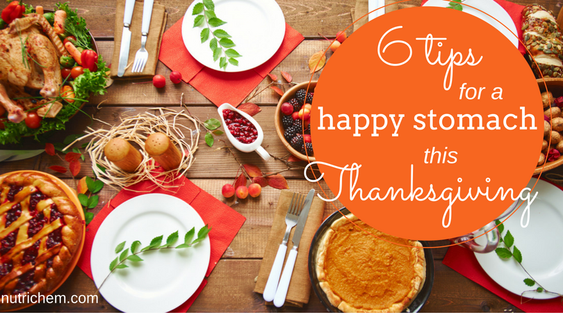 6 Tips for a Happy Stomach this Thanksgiving