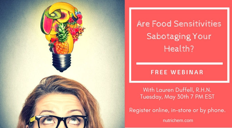 Are Food Sensitivities Sabotaging Your Health? [webinar]