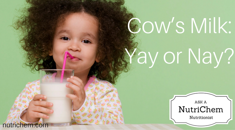 Ask a NutriChem Nutritionist: Cow's Milk and Eczema