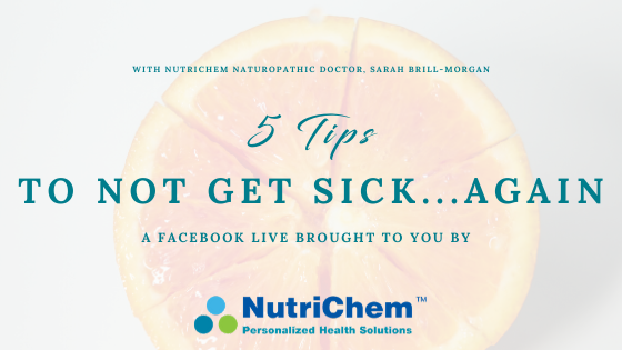 FACEBOOK LIVE: 5 Ways to Boost Your Immune System This Season