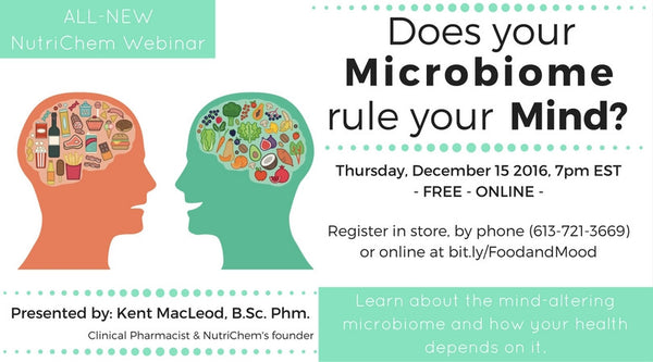 Does your Microbiome rule your Mind? [webinar]