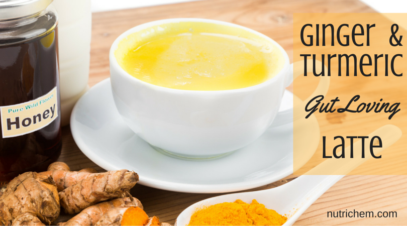 Ginger and Turmeric Gut Loving Latte