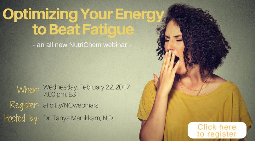 Optimizing your Energy to Beat Fatigue [webinar]