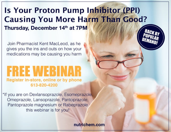 WEBINAR: Is Your Proton Pump Inhibitor Causing More Harm Than Good?